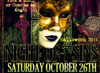 Dave McCants & Celeste Johnny in Association w/ the JI Group presents Night of 7 Sins Halloween Party!!